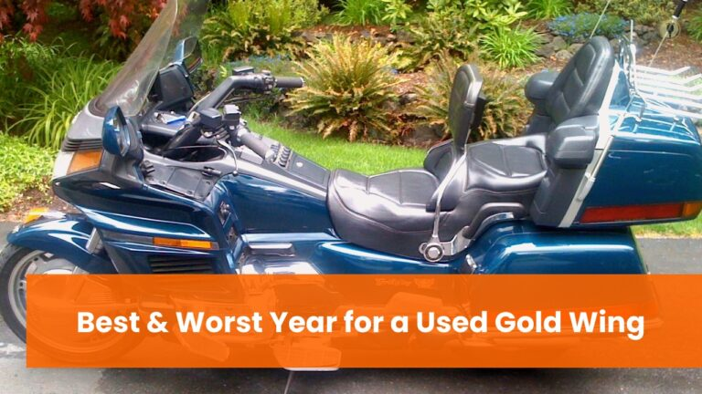 Best and Worst Year for a Used Gold Wing