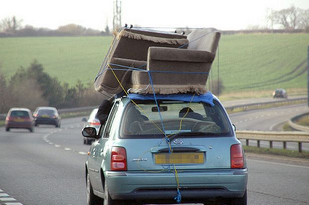 Can You Put a Sofa on a Roof Rack