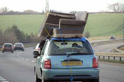 How To Strap A Couch To My Car