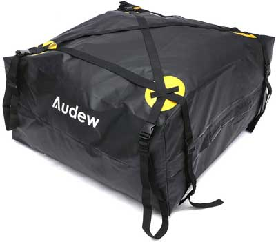 How Much Can Fit Into A Roof Bag?