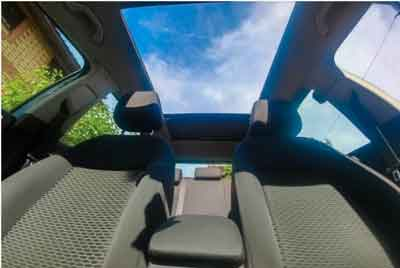 Can You Put Roof Rack on a Panoramic Sunroof?