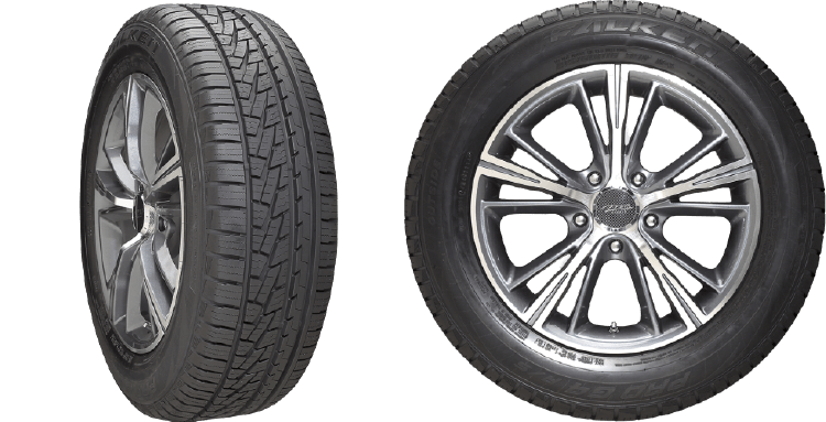 Falken Pro G4 AS tires