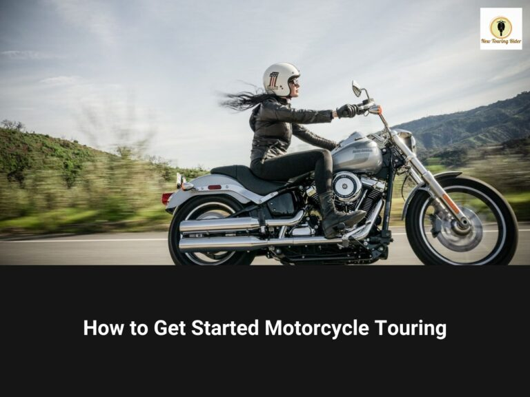 how to get started motorcycle touring