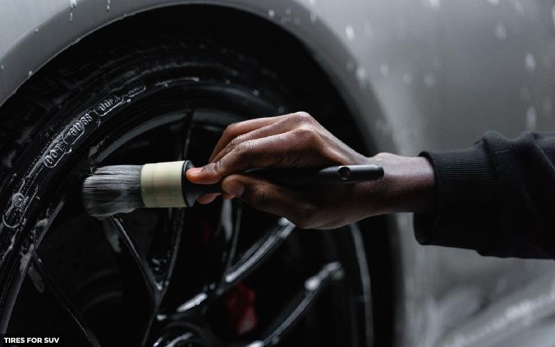 make your tires black in 5 steps