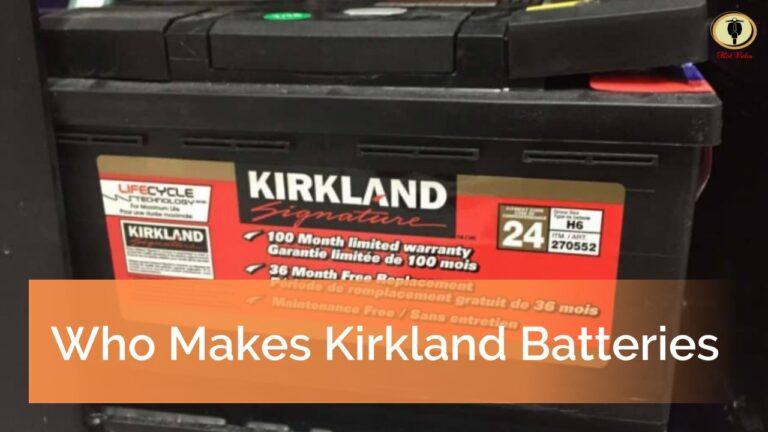 Who Makes Kirkland Batteries
